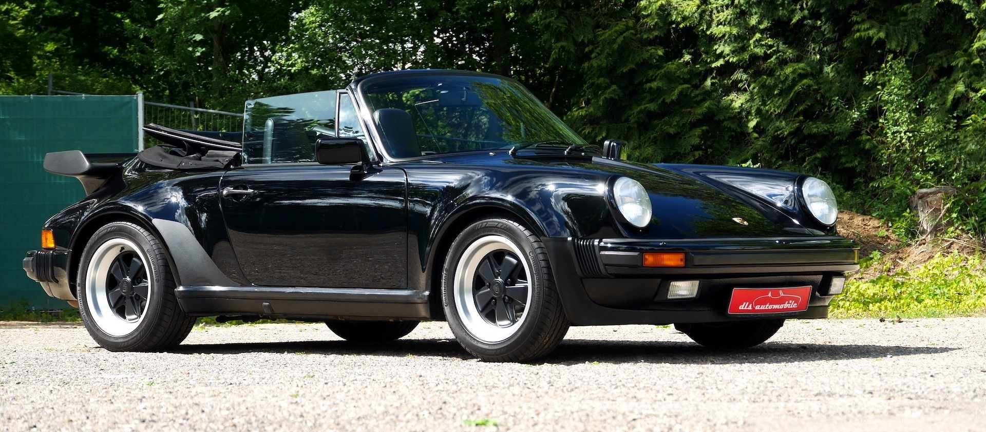 This 1989 Porsche 930 Turbo Convertible Is a Rare Widowmaker