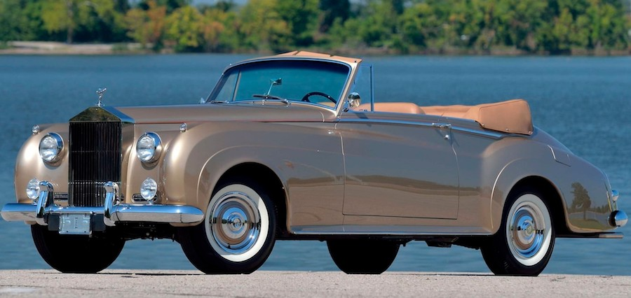 1959 Mulliner Rolls-Royce Silver Cloud Has Gorgeous Looks and Broadway Credits