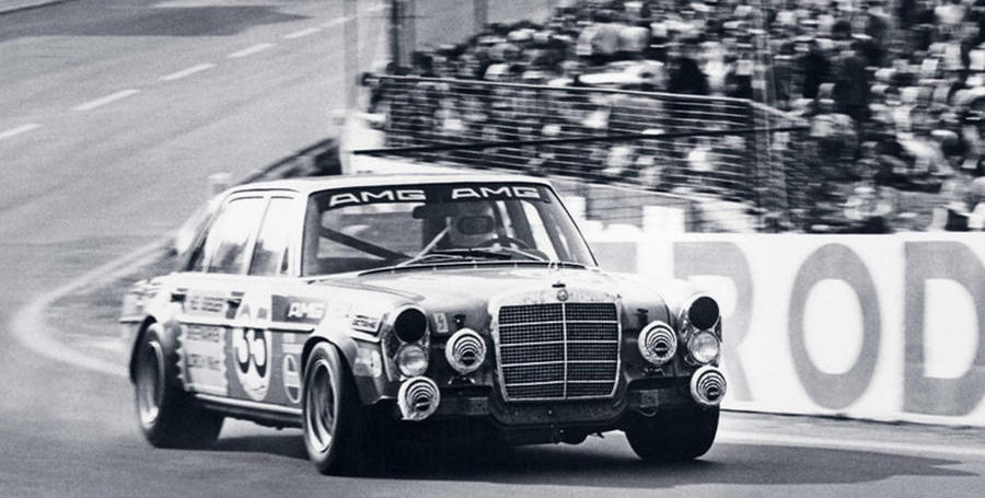 The history of Mercedes-Benz AMG