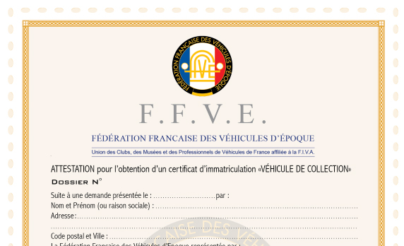 Certificat d'Immatriculation de Collection (ancienne Carte Grise Collection) : quelques rappels