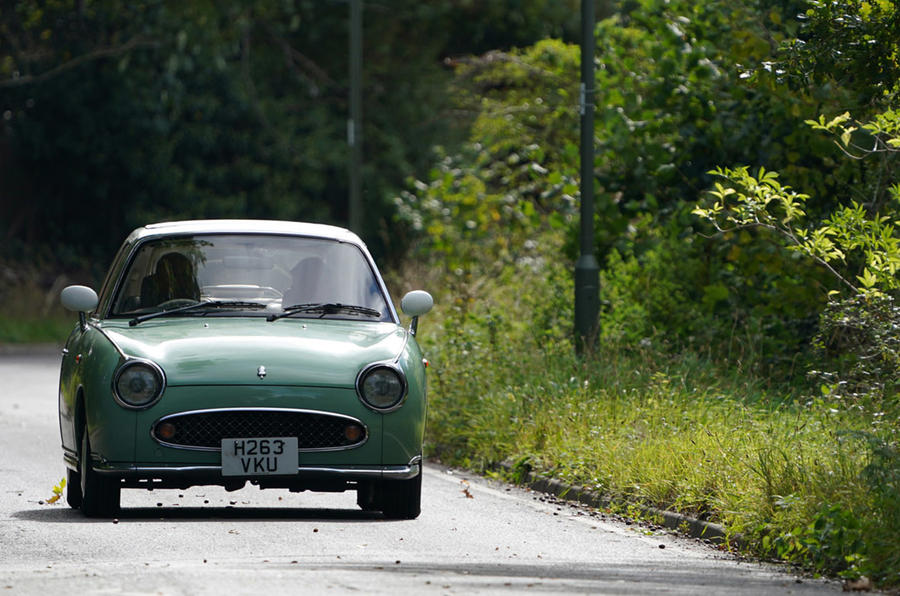 Nissan Figaro at 30: plotting the retro roadster's history