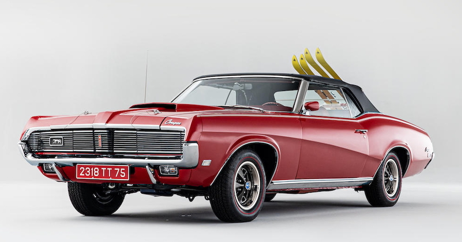 James Bond's 1969 Mercury Cougar XR-7 Convertible Is Looking for a New Owner