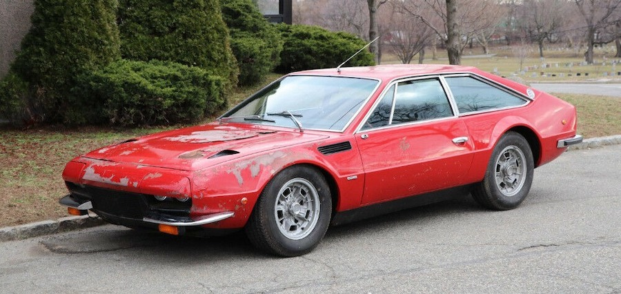 This Super-Rare 1973 Lamborghini Jarama Is a Survivor With a Mysterious Past