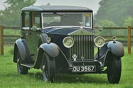 1931' Rolls-Royce 20/25 Park Ward Salon