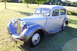 1938' Sunbeam Ten