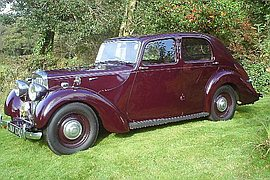 1947' Lea Francis Four Light Saloon