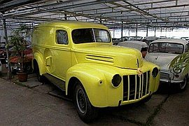1947' Ford Truck Panel Truck