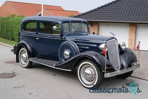 1934' Chevrolet Master for sale - €18,400  Denmark, the World
