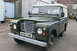 1977' Land Rover Series 3
