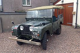 1954' Land Rover Series 1 86 Inch