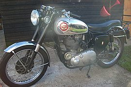 1955' BSA Gold Star DB34