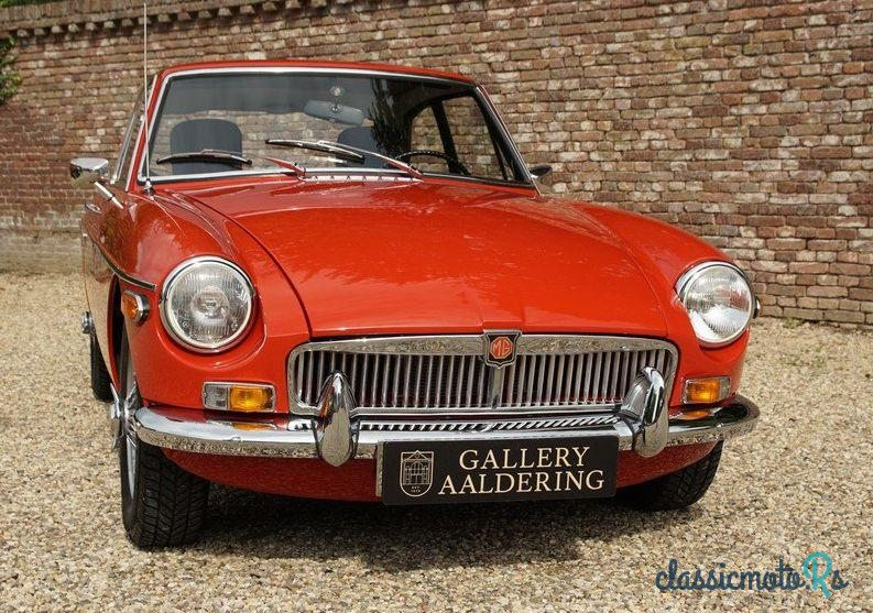 1973 MG Mgb Gt B Gt in Netherlands, the World