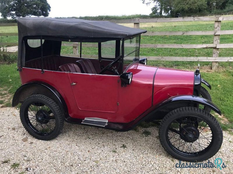 1928 Austin Chummy in Scotland, the World