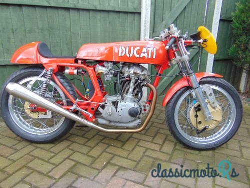 1972 Ducati 450 in Yorkshire, the World