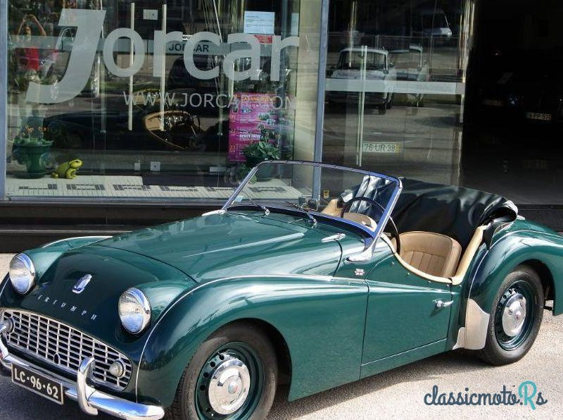 1958 Triumph TR3 A Roadster in Portugal, the World