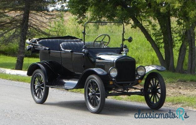 1921 Ford Model T in Illinois, the World