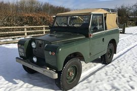 1966' Land Rover Series 2 A