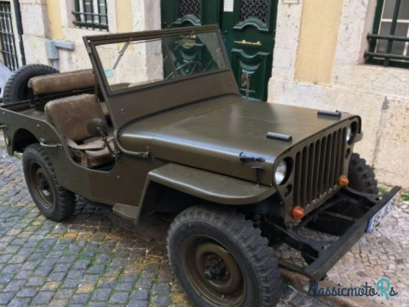 1958 Willys in Portugal, the World