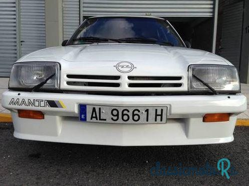 1984' Opel Manta I200 for sale - €17,700  Spain, the World