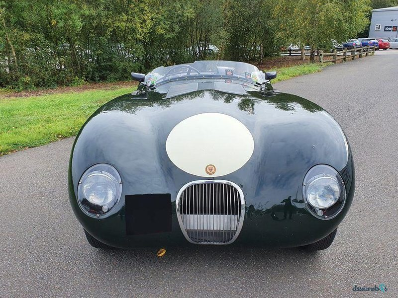 1953 Jaguar C-Type в США - 4