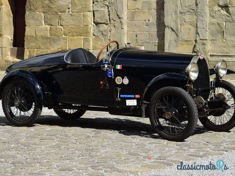 1924 Bugatti Type 23 Biplace Sport in France, the World