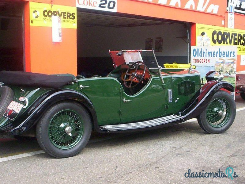 1934 Riley 9 Hp Lynx Tourer in Belgium, the World