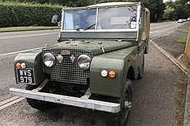 1951' Land Rover Series I 80