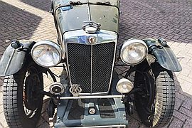 1936' MG Magnette Musketeer Recreation