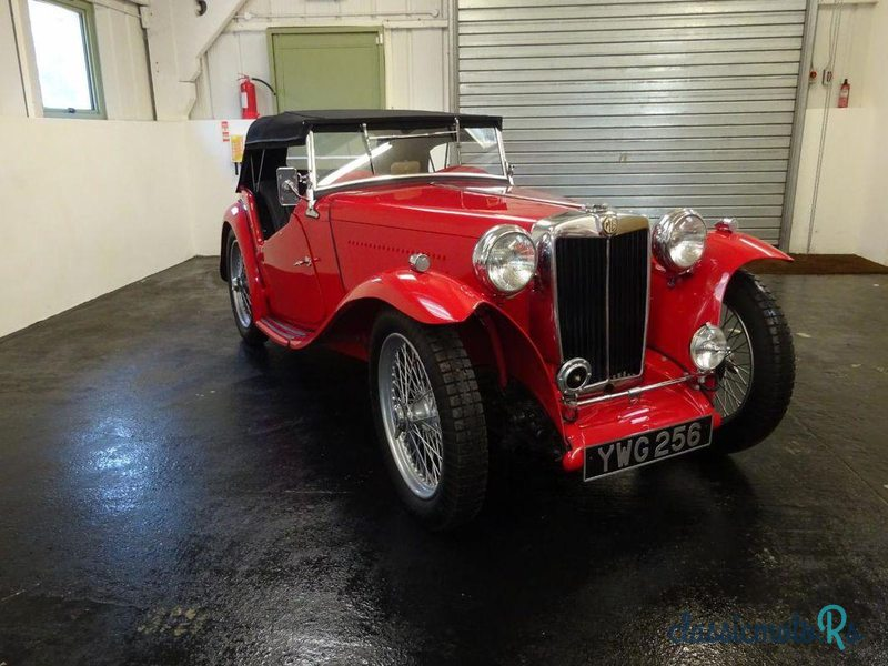 1949 MG TC in Sussex, the World