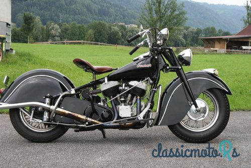 1947 Indian Chief in Austria, the World