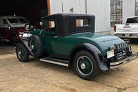 1929' Franklin 135 Coupe