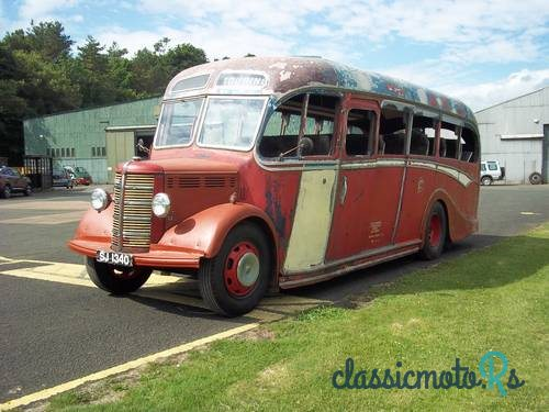 1951 Bedford OB in Scotland, the World