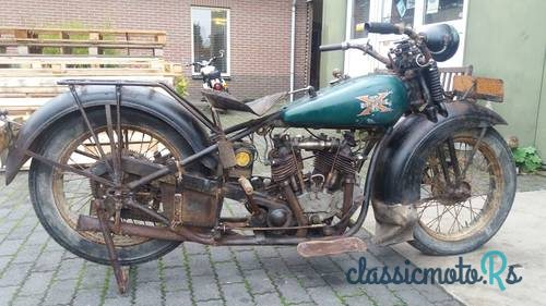 1931 Excelsior Model in Netherlands, the World