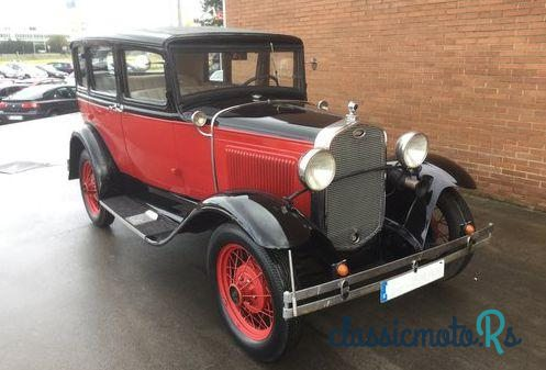 1931 Ford Model A in Spain, the World