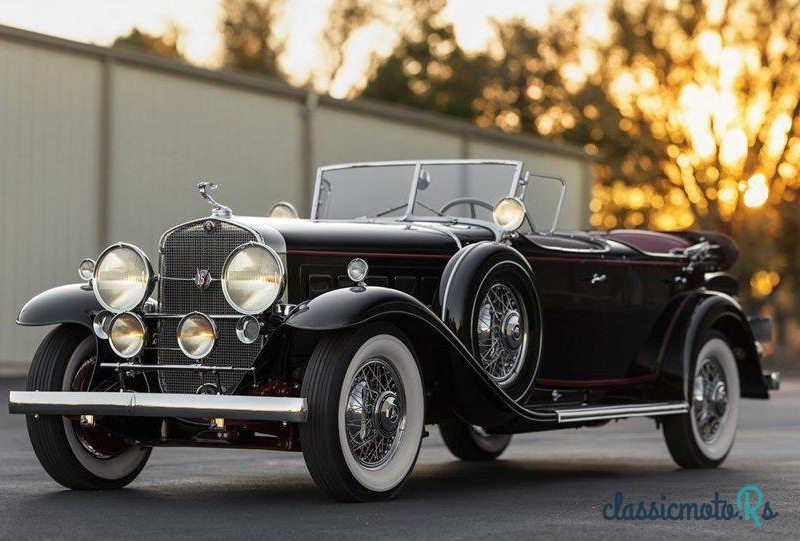 1930 Cadillac Fleetwood V-16 Sport Phaeton in Arizona, the World