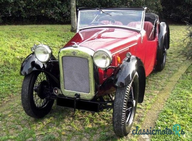 1934 Austin Austin 7 Seven Nippy in Portugal, the World
