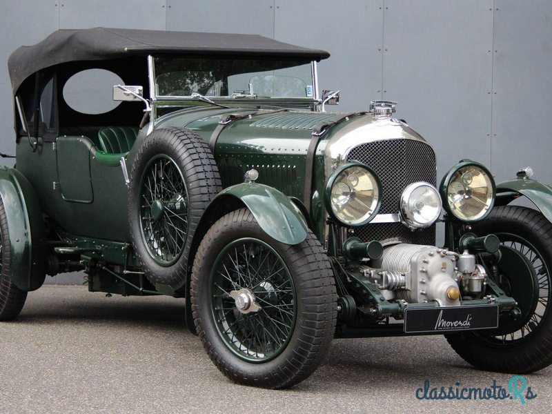 1929 Bentley 4 1/2 Litre Blower Open Tourer in Germany, the World