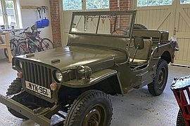 1942' Willys Jeep Mb