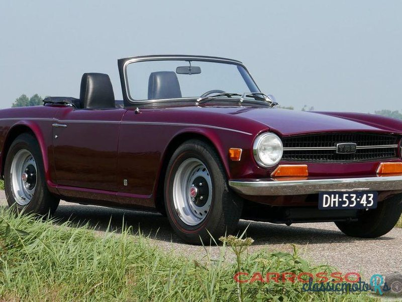 1971 Triumph TR6 in Netherlands, the World