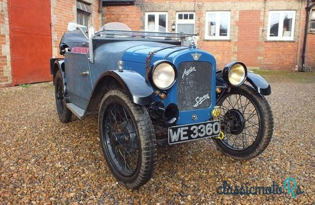 1928 Austin Austin 7 7 Sports in United Kingdom - 4