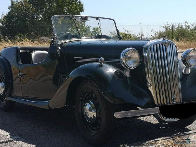1950 Singer Roadster in Portugal