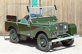 1949' Land Rover Series I 80 Inch