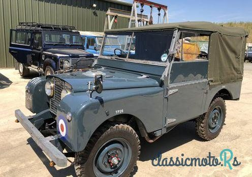 1952 Land Rover Series 1 Raf in United Kingdom, the World