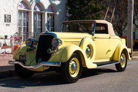 1934' Dodge Model Dr Convertible Coupe