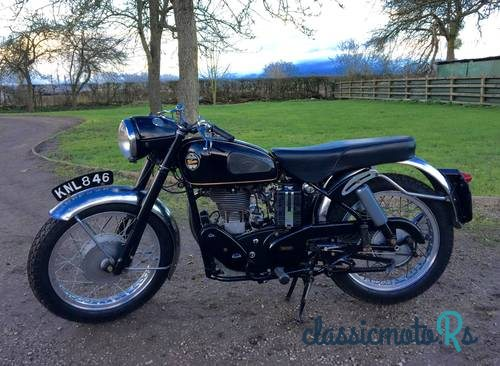 1956 Velocette in Gloucestershire, the World