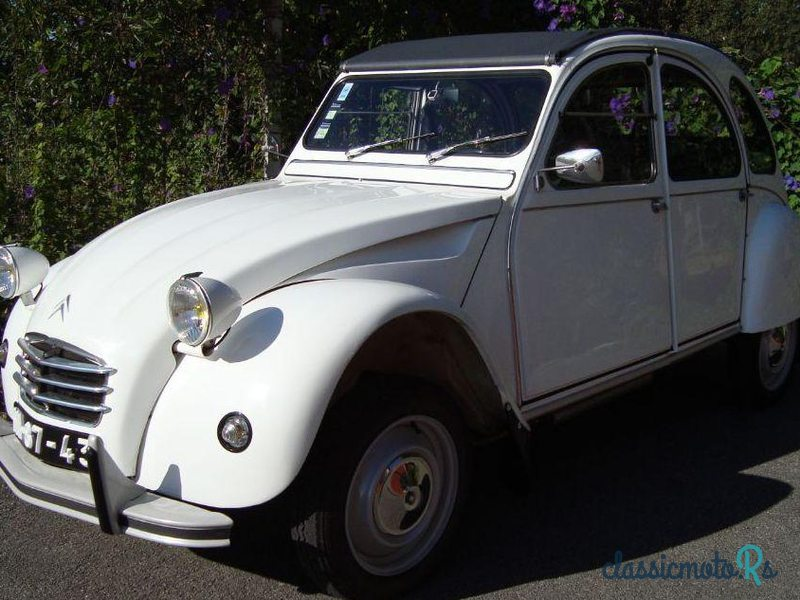 1960 Citroen 2CV Luxe Azl in Portugal, the World