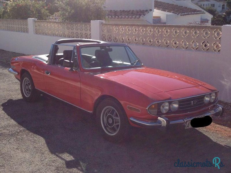 1974 Triumph Stag in Spain, the World