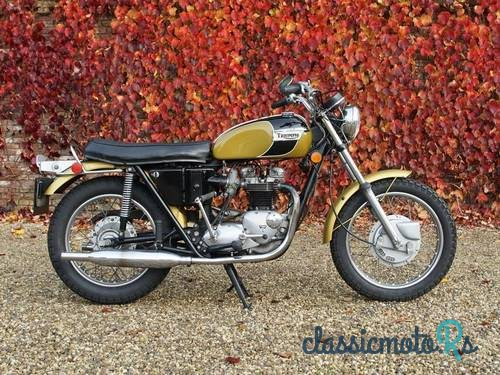 1971 Triumph Bonneville in Netherlands, the World