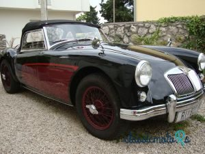 1957 MG MGA in Croatia