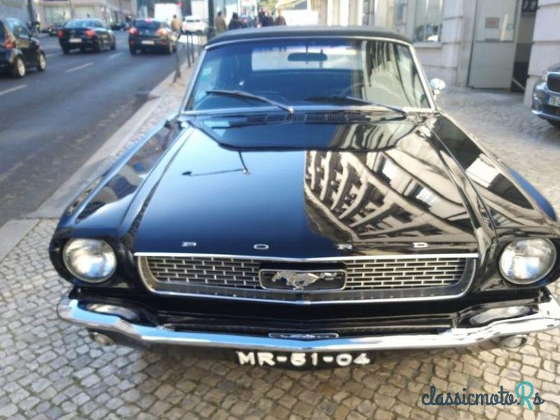 1966 Ford Mustang 5.0 V8 (289) Cabrio in Portugal - 2